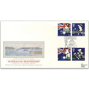 1988 Australian Settlement Bicentenary - Sotheby's Cover
