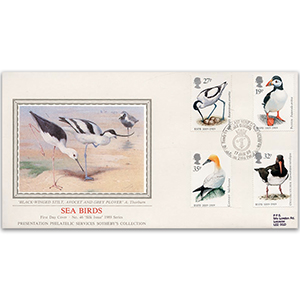 1989 Sea Birds - HMS Quorn BFPS 2194 - Sotheby's Cover