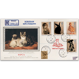 1990 RSPCA 150th - Sotheby's Cover