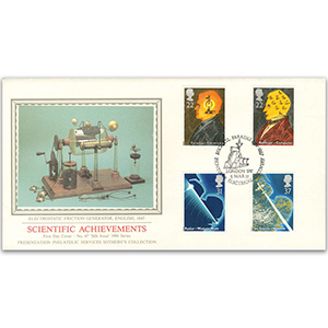 1991 Scientific Achievements - Faraday, London S.W. - Sotheby's Cover