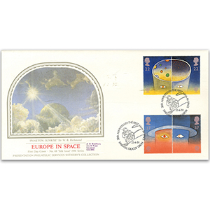 1991 Europe in Space - 30th Anniversary of Man in Space - Sotheby's Cover
