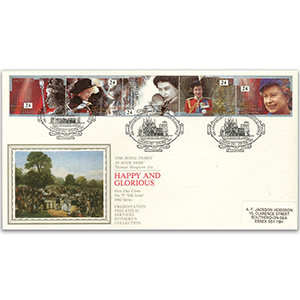 1992 The Queen's Accession 40th - Sotheby's Cover