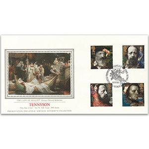 1992 Tennyson Death Centenary - Sotheby's Cover