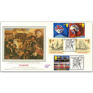 1992 Europa: International Events - Sotheby's Cover