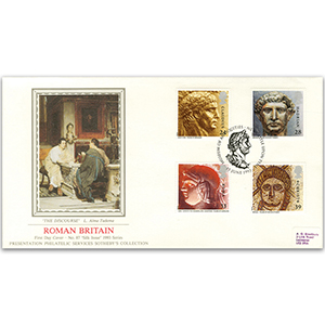 1993 Roman Britain - Sotheby's Cover