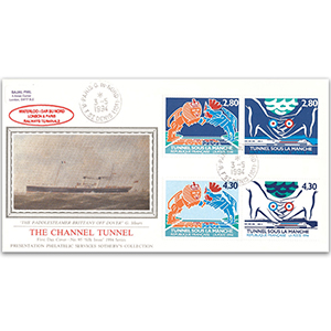 1994 La Poste Channel Tunnel - Sotheby's Cover