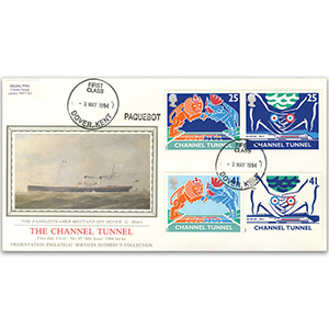 1994 Channel Tunnel - Sotheby's Cover