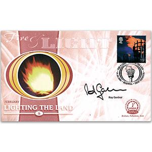 2000 Fire & Light: Lighting the Land - Signed by Sir Roy Gardner