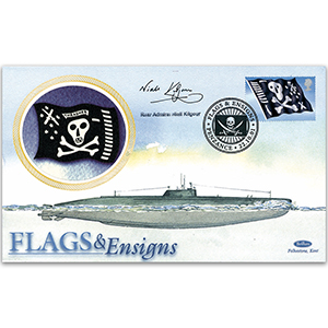 2001 Flags & Ensigns - Signed by Rear Admiral Niall Kilgour