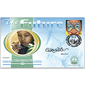 2001 The Future - Signed by Gaby Roslin