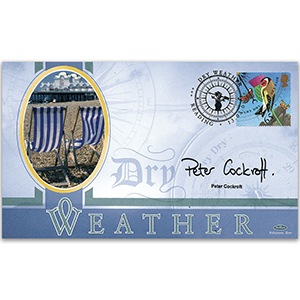 2001 The Weather - Signed by Peter Cockroft