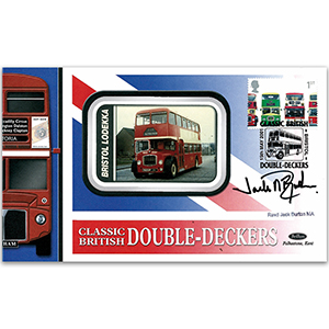 2001 Double-Decker Buses - Signed by Reverend Jack Burton MA