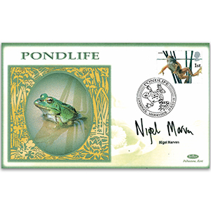 2001 Europa: Pond Life - Signed by Nigel Marven