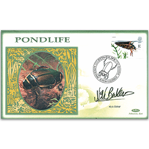 2001 Europa: Pondlife - Signed by Nick Baker