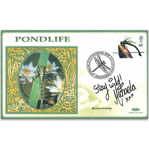 2001 Pondlife - Signed by Michaela Strachan