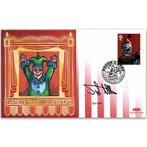 2001 Punch & Judy - Signed by Syd Little
