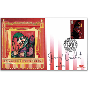 2001 Punch & Judy - Signed by Jimmy Cricket