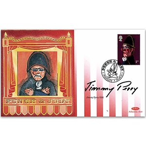 2001 Punch & Judy - Signed by Jimmy Perry OBE