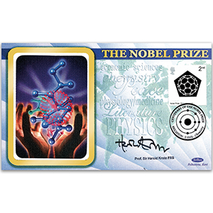2001 Nobel Prizes 100th - Signed by Professor Sir Harold Kroto FRS