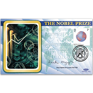 2001 Nobel Prizes 100th - Signed by Professor Sir Partha Dasgupta PhD