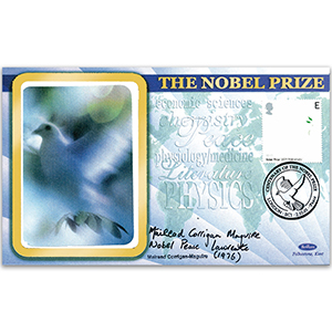 2001 Nobel Prize - Signed by Mairead Corrigan Maguire