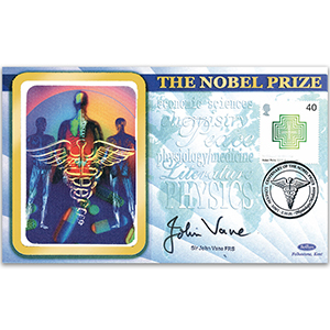 2001 Nobel Prizes 100th - Signed by Sir John Vane FRS
