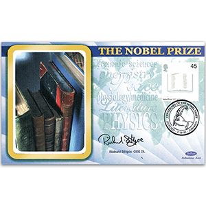 2001 Nobel Prizes 100th - Signed by Richard Stilgoe OBE DL