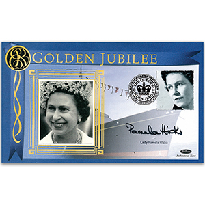 2002 Golden Jubilee - Signed by Lady Pamela Hicks