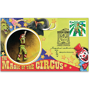 2002 Europa: Circus - Signed by Jacqueline Welbourne