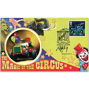 2002 Europa: Circus - Signed by Mooky the Clown