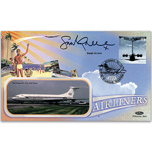 2002 Airliners - Signed by Sarah Greene