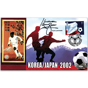 2002 World Cup - Signed by Mark Lawrenson