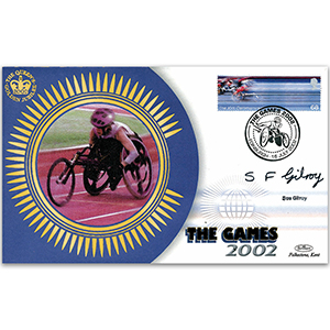 2002 Commonwealth Games - Signed by Sue Gilroy MBE