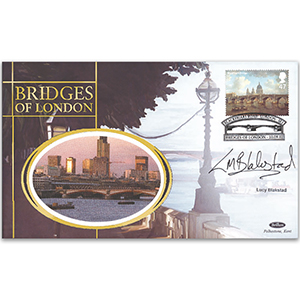 2002 Bridges of London - Signed by Lucy Blackstad