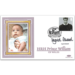 2003 Prince William's 21st - Signed by Ingrid Seward
