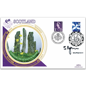 2003 Scotland Regional Definitive - Signed by Sally Magnusson
