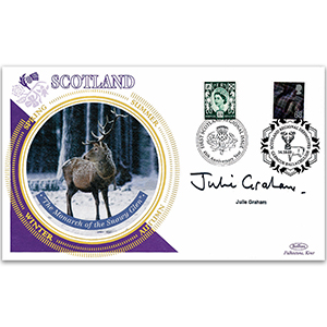 2003 Scotland Regional Definitive - Signed by Julie Graham