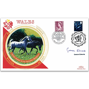 2003 Wales Regional Definitives - Signed by Gwenan Edwards