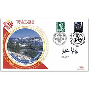 2003 Wales Regional Definitive - Signed by Sian Lloyd
