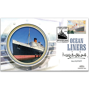 2004 Ocean Liners - Signed by Mary Nightingale