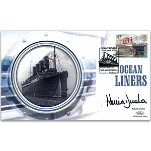 2004 Ocean Liners - Signed by Kevin Duala