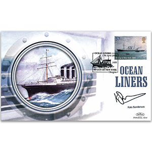 2004 Ocean Liners - Signed by Kate Sanderson