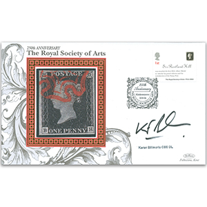 2004 Royal Society of the Arts 250th - Signed by Karen Bilimoria CBE