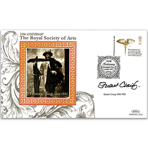 2004 Royal Society of the Arts 250th - Signed by Stuart Craig OBE