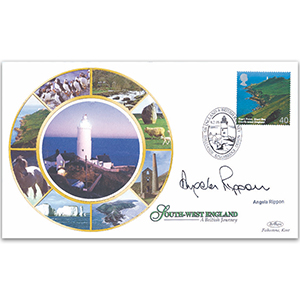 2005 British Journey: South West England - Signed by Angela Rippon