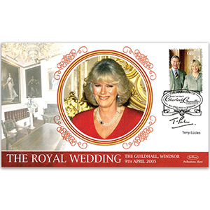 2005 Royal Wedding - Signed by Terry Eccles
