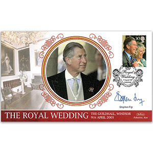 2005 Royal Wedding - Signed by Stephen Fry