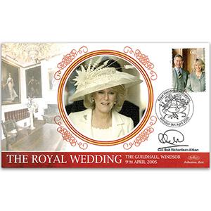 2005 Royal Wedding - Signed by Colonel Bob Richardson-Aitken