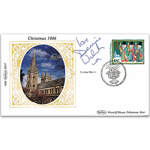 1986 Christmas - Signed by Denise Welch