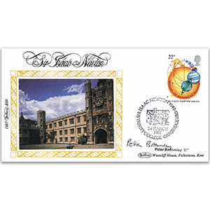 1987 Isaac Newton Anniversary - Signed by Peter Bottomley MP